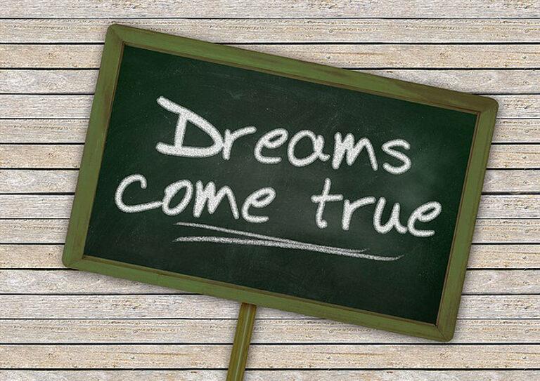 Ali slediš svojemu srcu in svojim sanjam?