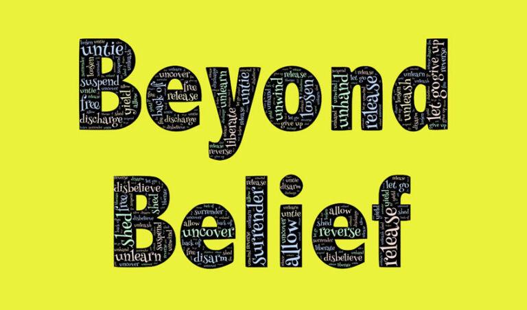 Kar počneš, v to verjameš!