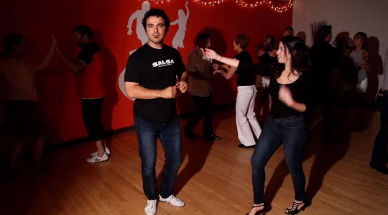 Kako se NE pleše salse? (moški)