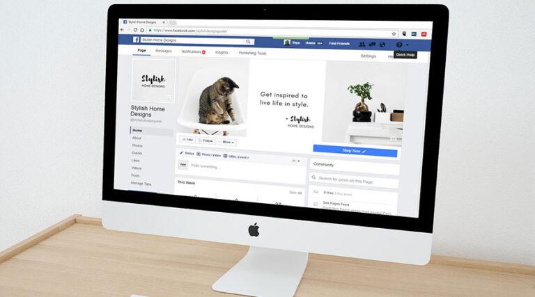 Ali je dovolj imeti le Facebook spletno stran?
